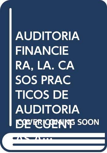 AUDITORIA FINANCIERA,LA: ALVARADO RIQUELME,MARIA