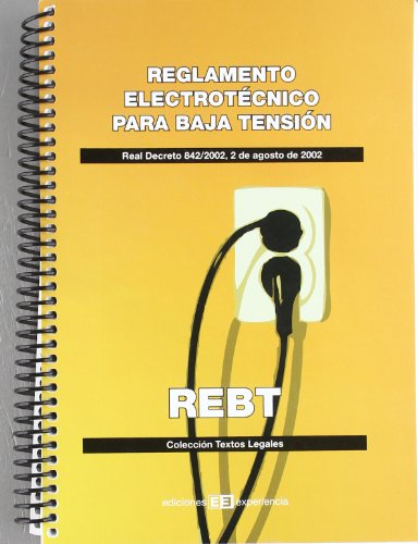 9788496283749: Reglamento Electrotécnico para Baja Tensión: Real decreto 842/2002