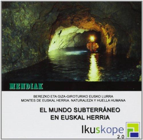 9788496288478: (cd-Rom) Mendiak 5 - El Mundo Subterraneo En Euskal Herria