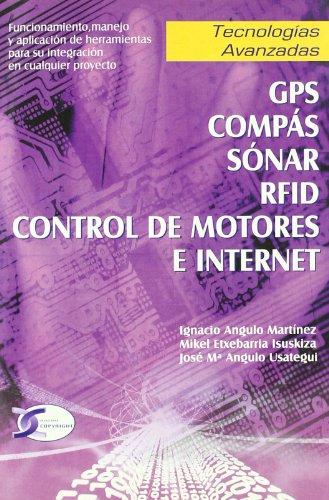 GPS, compás, sónar, RFD control de motores: I. Angulo Martínez,