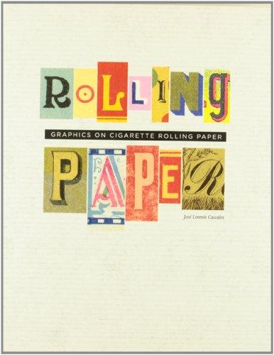 Rolling paper. Graphics on cigarette rolling paper.: JOSÉ LORENTE CASCALES