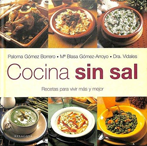 9788496326033: Cocina sin sal