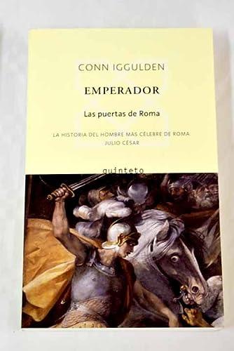 9788496333130: Emperador, I. Las puertas de Roma (Quinteto Bolsillo)