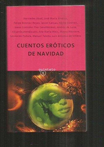 9788496333598: Cuentos Eroticos De Navidad