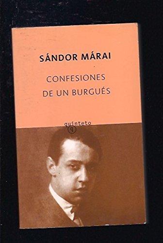 9788496333789: Confesiones De UN Burgues (Spanish Edition)