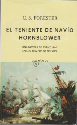 9788496333956: El teniente de navío Hornblower (Quinteto Bolsillo)