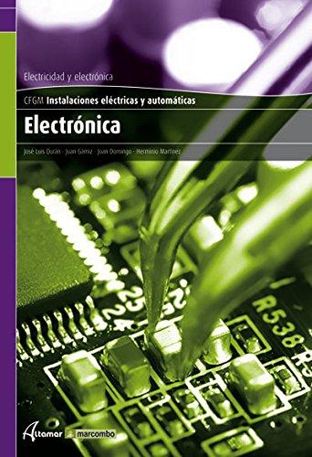 9788496334748: Electrónica (CFGM INSTALACIONES ELECTRICAS Y AUTOMATICAS)