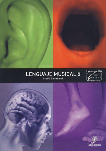 9788496350649: ENCLAVE - Lenguaje Musical 5º (Grado Elemental) (Molina)