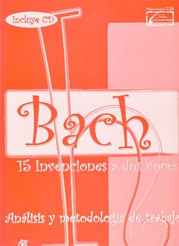 9788496350878: ENCLAVE - Bach: 15 Invenciones a 2 Voces (Estudio Original, Analisis y Metodologia) para Piano(Inc.CD)