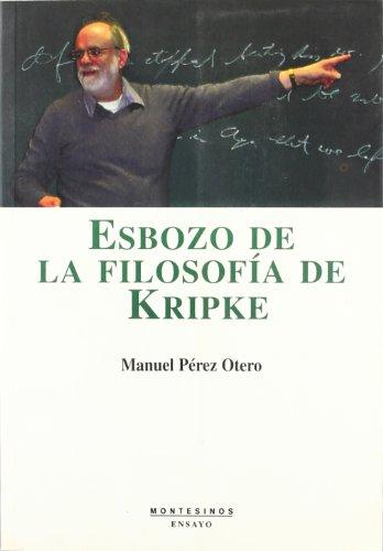 9788496356771: Esbozo de la filosofía de Kripke