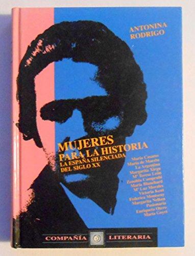 9788496357297: Mujeres para la historia / Women's history (Spanish Edition)