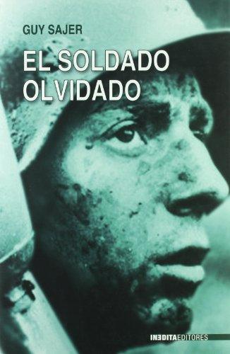 EL SOLDADO OLVIDADO: SAJER, GUY