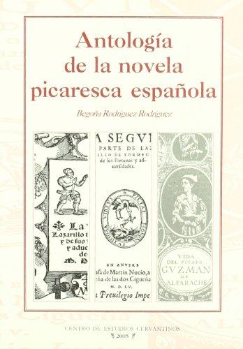 9788496408074: Antología de la novela picaresca española