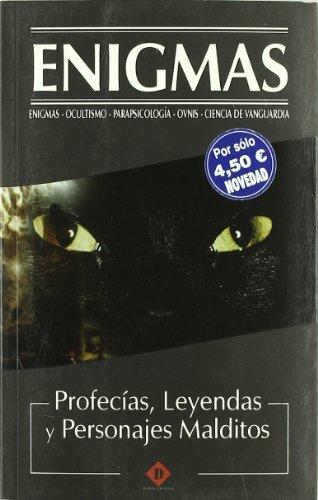 9788496410374: Profecias leyendas y personajes malditos (Enigmas)