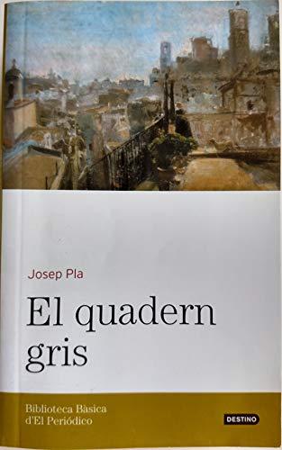 9788496414792: El Quadern Gris