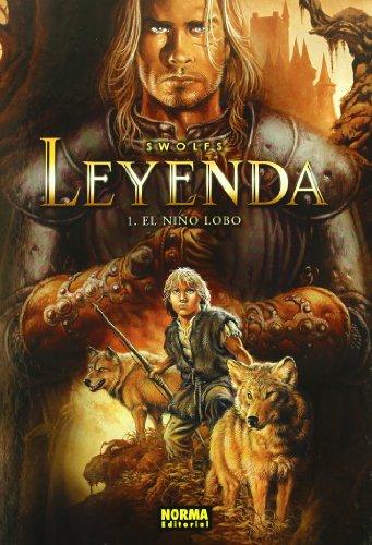 9788496415676: LEYENDA 1 EL NIÑO LOBO