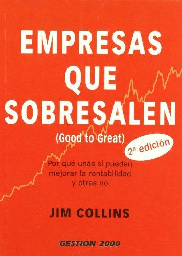 9788496426856: Empresas que sobresalen (good to great)