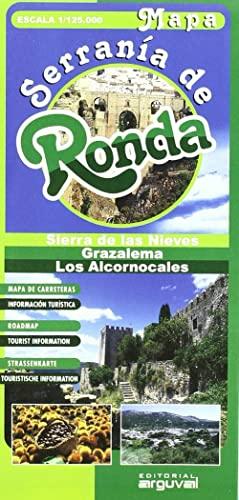 9788496435483: MAPA SERRANIA DE RONDA