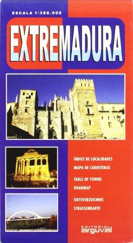 9788496435490: Mapa de Extremadura (MAPAS DE CARRETERAS)