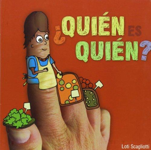 9788496448261: ¿Quién es quién? (Para los más bajitos) (Spanish Edition)