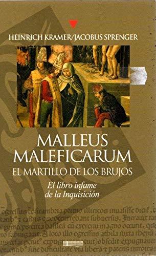 9788496449190: MALLEUS MALEFICARUM EL MARTILLO DE LOS BRUJOS