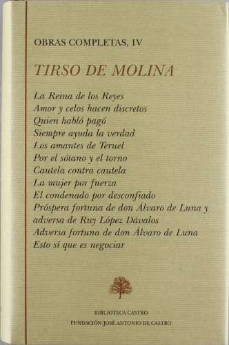 9788496452046: Obras Completas De Tirso De Molina