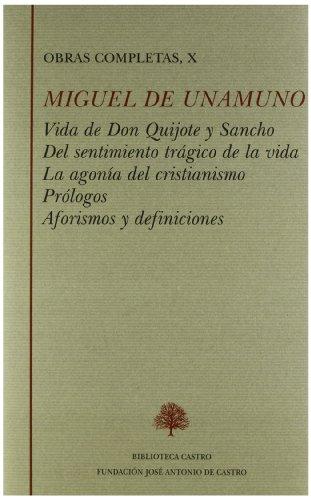 9788496452794: Ensayos (Vida de Don Quijote y Sancho ; Del sentimiento trágico de la vida ; La agonía del cristianismo)