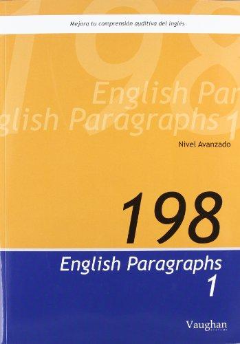 9788496469051: 198 English Paragraphs 1
