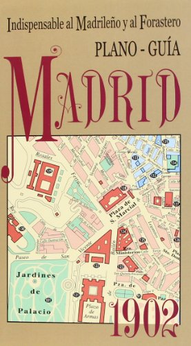 9788496470613: Plano guía Madrid 1902
