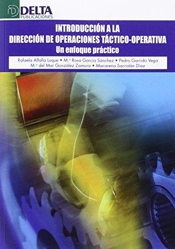 INTRODUC DIREC OPERACIONES TACTICO-OPERA: Alfalla Luque, Rafaela