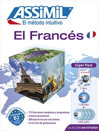 9788496481664: Assimil Superpack El Francés (Livre+4CD audio+1CD mp3 (French Edition)