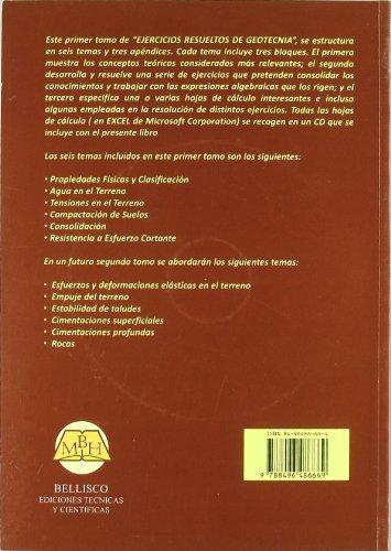 9788496486669: EJERCICIOS RESUELTOS DE GEOTECNIA + CD