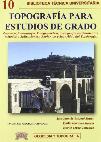 9788496486898: Topografia para estudios de grado