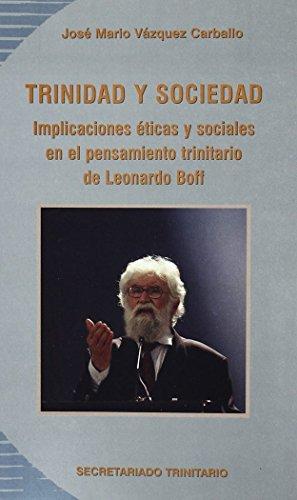 9788496488274: Trinidad y sociedad. Pensamiento de Leonardo Boff
