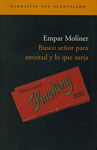 9788496489011: Busco Seor Para Amistad y Lo Que Surja (Spanish Edition)