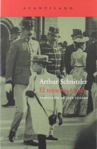 El teniente Gustl (Cuadernos del Acantilado): Schnitzler, Arthur