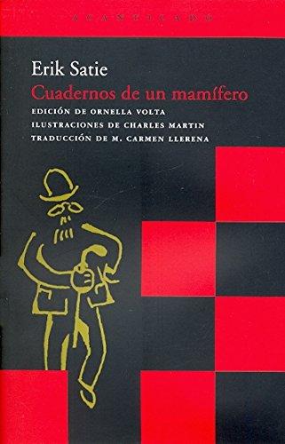9788496489554: Cuadernos de un mamifero / Mammal's notebook (Spanish Edition)