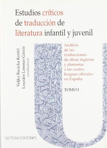 Estudios cr¡ticos de traducción de literatura infantil: Ruzicka Kenfel, Veljka;