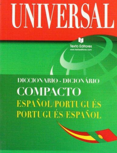 9788496500051: Diccionario compacto español-portugues/portugues-español