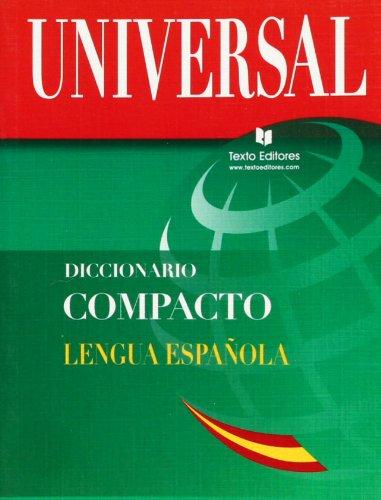 9788496500068: Diccionario Compacto Español