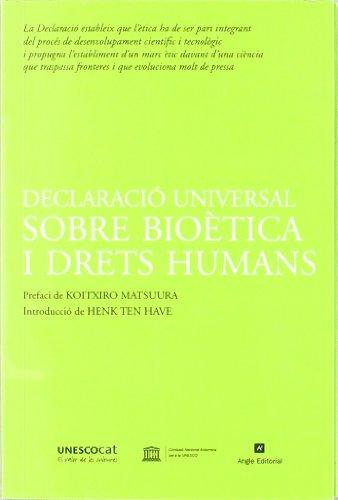 9788496521537: Declaració universal sobre bioètica i drets humans (Unesco)
