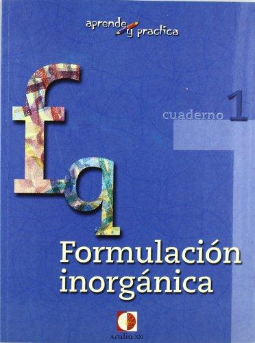 9788496547223: Aprende y practica, formulación química inorgánica