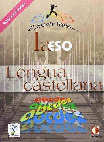 9788496547735: El puente hacia-- la ESO, lengua castellana. Solucionario