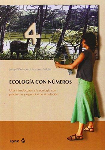 9788496553019: Ecología con números