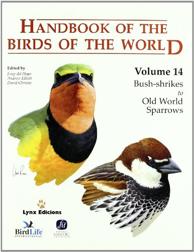 Handbook of the Birds of the World.