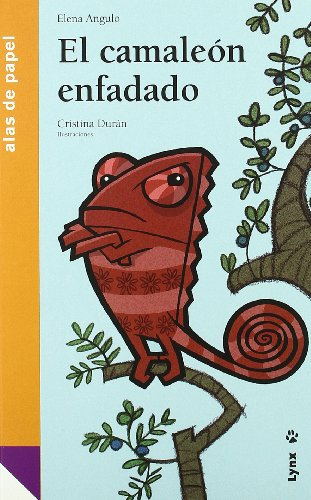 9788496553743: El camaleón enfadado (Alas de papel)