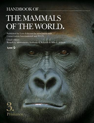 9788496553897: Handbook of the Mammals of the World, Volume 3: Primates (Handbook of Mammals of the World)