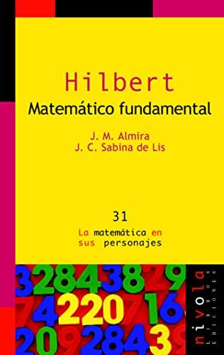 9788496566408: Hilbert. Matemático fundamental.