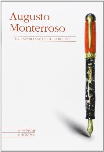 9788496592162: Exportador De Cerebros (Spanish Edition)