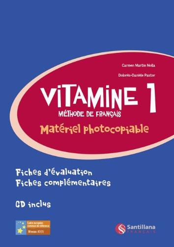 9788496597747: Vitamine 1 Material Fotocopiable
